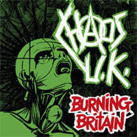 "Chaos UK ""Burning Britain"" 2xLP"