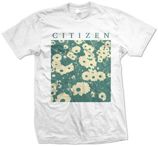 "Citizen ""Flowers"" White T Shirt"