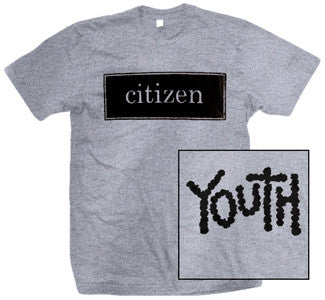 "Citizen ""Youth"" Grey T Shirt"
