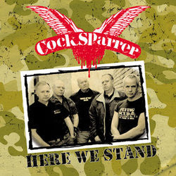 "Cock Sparrer ""Here We"" LP"