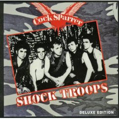 "Cock Sparrer ""Shock Troops"" CD"