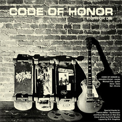 "Code Of Honor / Sick Pleasure ""Split"" LP"