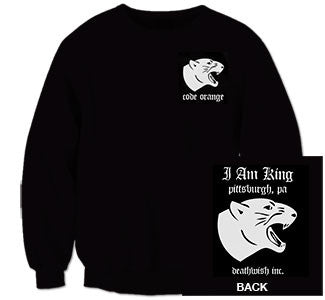 "Code Orange ""Panther"" Crewneck Sweatshirt"