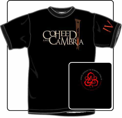 Coheed And Cambria Guillotine T Shirt