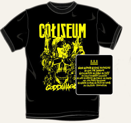 Coliseum Goddamage T Shirt
