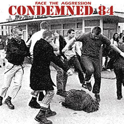 "Condemned 84 ""Face The Aggression"" LP"