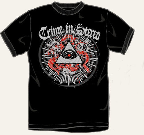 Crime In Stereo Masons Eye T Shirt