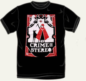 Crime In Stereo Riding Hood T Shirt