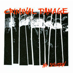 "Criminal Damage ""No Solution"" LP"