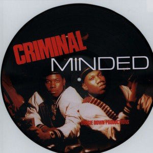 "Boogie Down Productions ""Criminal Minded"" Pic LP"