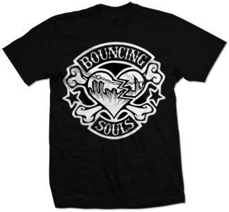 "The Bouncing Souls ""Rocker Heart"" T Shirt"