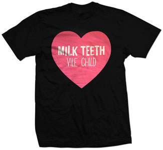"Milk Teeth ""Vile Child Heart"" T Shirt"