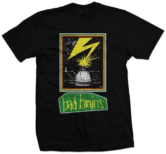 "Bad Brains ""'89 Tour"" T Shirt"