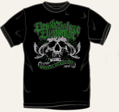 Death Before Dishonor Skull T Shirt