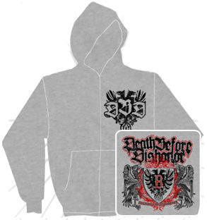 Death Before Dishonor Zip Hood