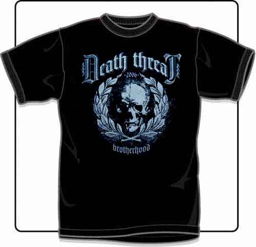 Death Threat Brotherhood T Shirt Small