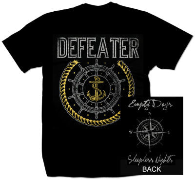 "Defeater ""Anchor"" T Shirt"
