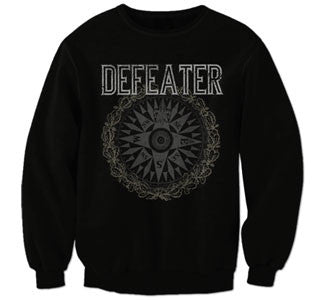 "Defeater ""Compass"" Crew Neck Sweatshirt"
