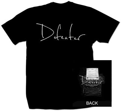 "Defeater ""Type Writer"" T Shirt"
