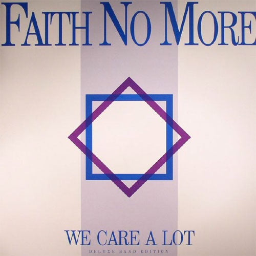 "Faith No More ""We Care A Lot"" 2xLP + CD"