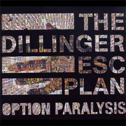 "The Dillinger Escape Plan ""Option Paralysis"" CD DELUXE"