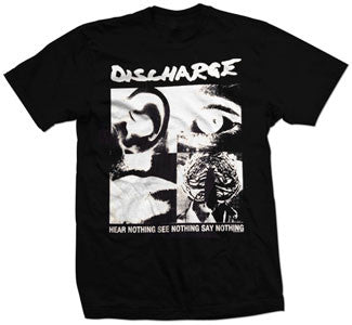 "Discharge ""Hear Nothing, See Nothing"" T Shirt"