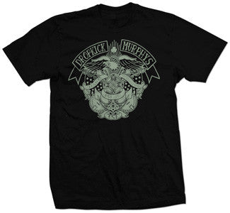 "Dropkick Murphys ""Eagle And Banjos"" T Shirt"
