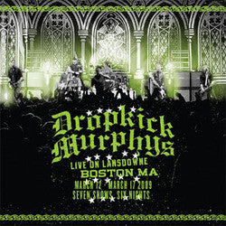 "Dropkick Murphys ""Live On Lansdowne Boston MA"" 2xLP/CD"