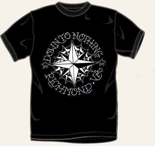 "Down To Nothing ""Nautical"" Black T Shirt"