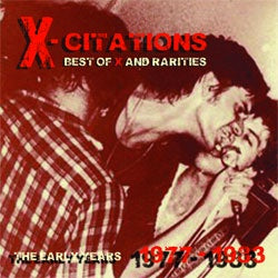 "X  ""X-Citations: Best Of X and Rarities Vol. 1"" LP"