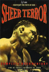 "Sheer Terror ""Beaten By The Fists Of God"" DVD + CD"