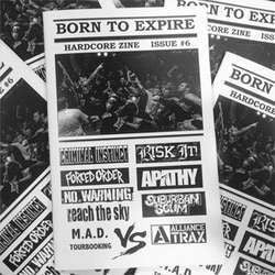 "Born To Expire ""#6"" Zine"