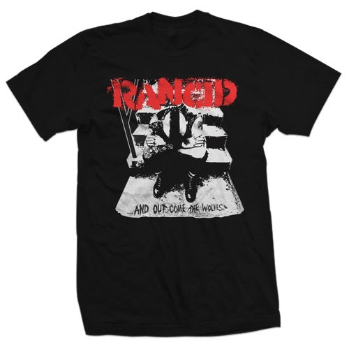 "Rancid ""And Out Comes The Wolves Cover"" T Shirt"