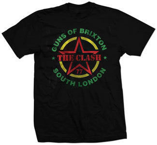 "The Clash ""Guns Of Brixton"" T Shirt"
