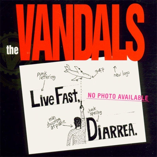"The Vandals  ""Live Fast, Diarrea (25th Anniversary Edition)"" LP"