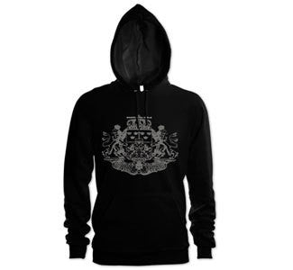 "Modern Life Is War ""Crest"" Hooded Sweatshirt"