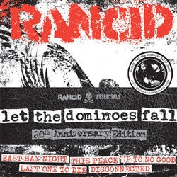 "Rancid ""Let The Dominoes Fall: 20th Anniversary Edition""  7"" Pack"
