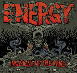 "Energy ""Invasions Of The Mind"" CD"