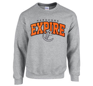 "Expire ""Hardcore"" Crew Neck Sweatshirt"