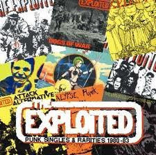"The Exploited ""Punk Singles and Rarities"" 2xLP"