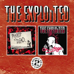 "The Exploited ""Punk's Not Dead / On Stage"" CD"