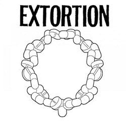 "Extortion / Completed Exposition ""<i>split</i>"" 7"""