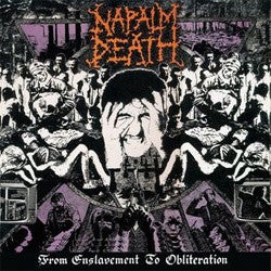 "Napalm Death ""From Enslavement To Obliteration"" LP"