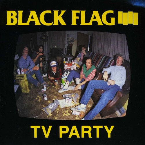 "Black Flag ""TV Party"" 7"""
