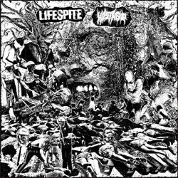 "Lifespite / Hostage ""Split"" LP"