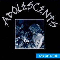 "Adolescents ""Live 1981 and 1986"" LP"