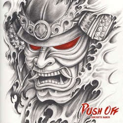 "Push Off ""Concrete Hands"" 7"""
