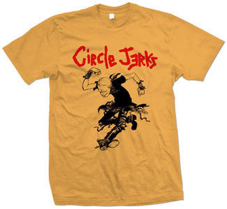"Circle Jerks ""Skank Man"" T Shirt"