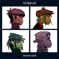"Gorillaz ""Demon Days"" LP"