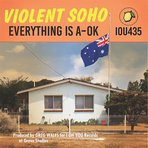 "Violent Soho ""Everything Is A-OK"" CD"